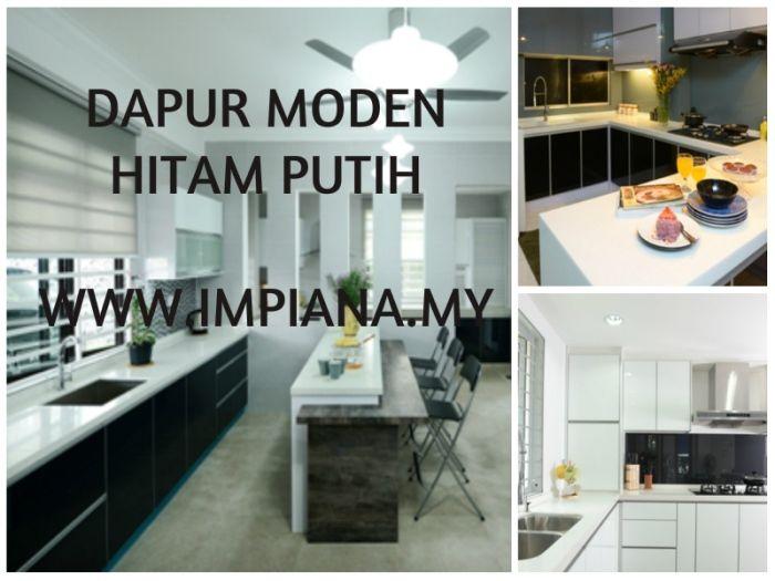 Dekorasi Dapur Berguna Inspirasi Dapur Hitam Putih Memberi Aura Mempersona Dapur Dekor
