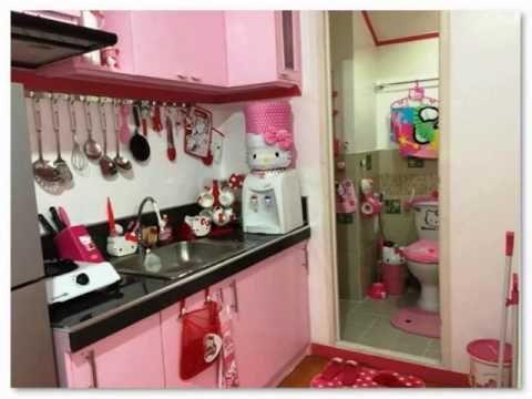 Desain Dapur Warna Pink Yang Cantik renovasi