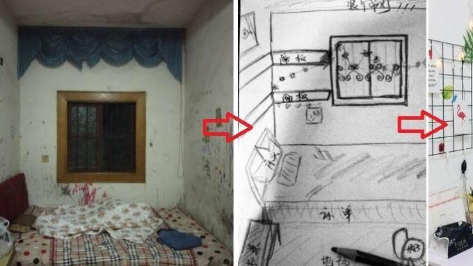 Dekorasi Dapur Kecil Berguna Keren Gadis Ini Bisa Ubah Kamar Kos Yang Sempit Dan Murah Menjadi