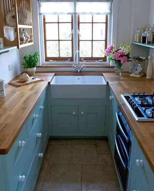 38 Idea Dekorasi Dapur Untuk Apartment Dan Kondominium Yang Kecil Dan el