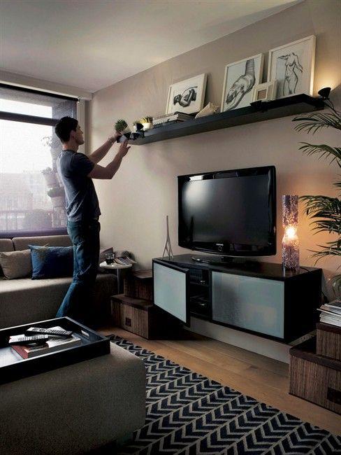 Dekorasi Ikea Menarik Ikea Lack Shelf Above Tv …