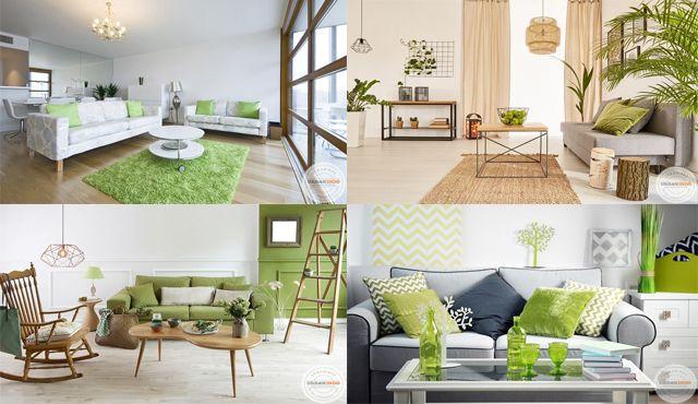 header ruang tamu hijau