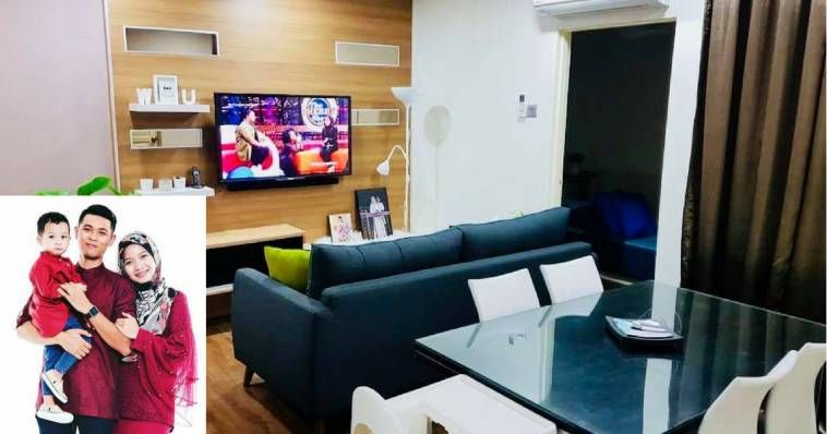 Dekorasi Ruang Tamu Rumah Teres Kos Rendah Bermanfaat Lihat Transformasi Pangsapuri Kos Rendah 650 Kaki Persegi