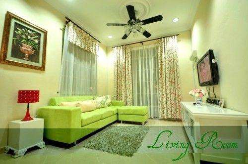 Dekorasi Ruang Tamu Rumah Teres Kos Rendah Terhebat Deco Rumah Apartment Kecil Avec Deco Rumah Flat Et Hiasan Ruang Tamu