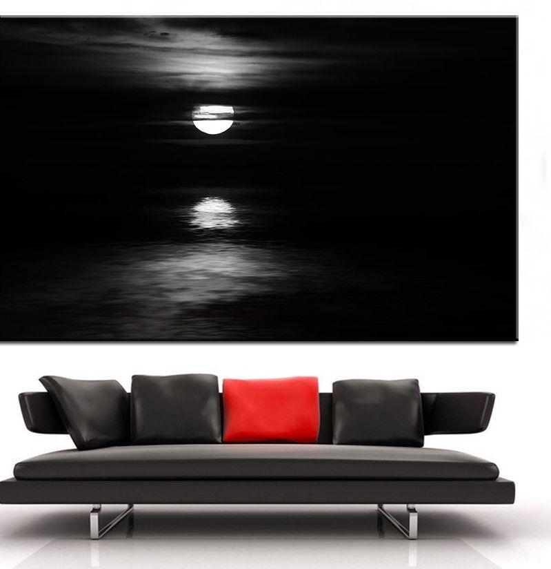 Ukuran besar Pencetakan Lukisan Minyak moonlight charade Dinding Dekorasi lukisan Dinding Gambar Seni Untuk Ruang Tamu lukisan No Frame