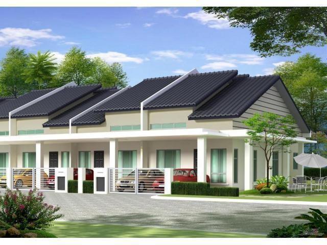 Dekorasi Rumah Teres Setingkat Berguna Rumah Teres Setingkat Taman Nakhoda Lorong Puyuh Telok Panglima