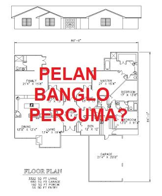 Free Download Pelan Rumah Banglo Menarik Panduan & Tips Ubahsuai Rumah Tips Mendapatkan Pelan Banglo Percuma