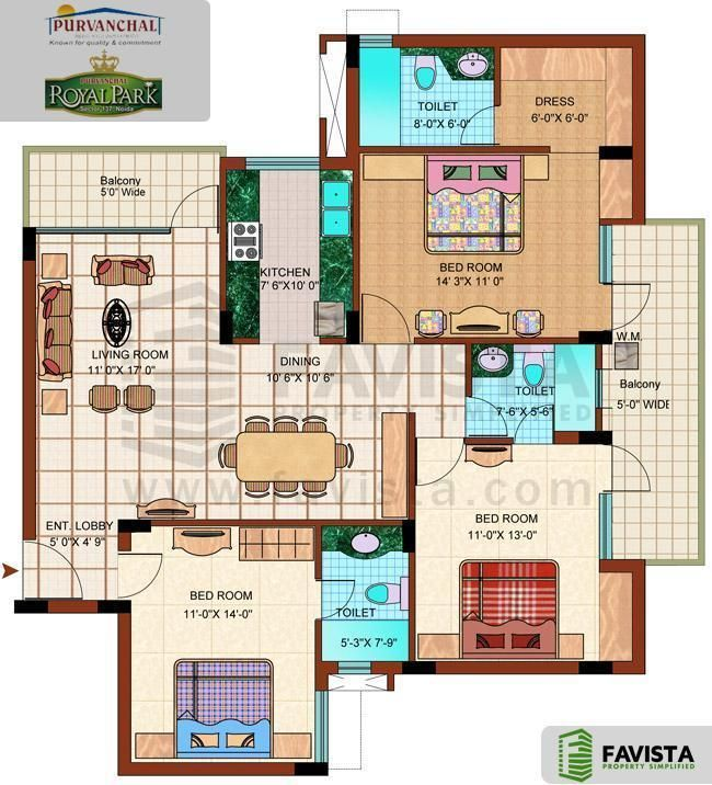 Free Download Pelan Rumah Banglo Power Floor Plans Of 3bhk 4bhk and 5bhk Apartments In Purvanchal Royal