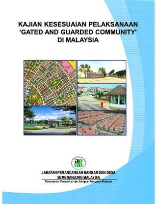 Gambarajah Pelan Rumah Terhebat Kajian Kesesuaian Pelaksanaan Gated and Munity Di Malaysia by