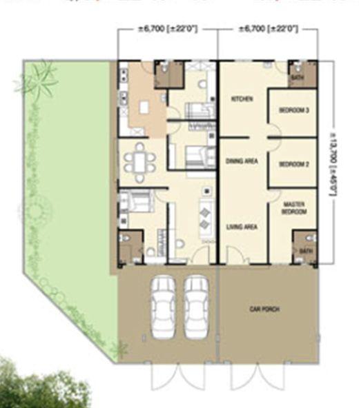 Bilangan Unit 100 Keluasan Standard Lot 1040 00 Keluasan Bangunan Standard 900 00 Harga RM220 400 00 RM220 400 00