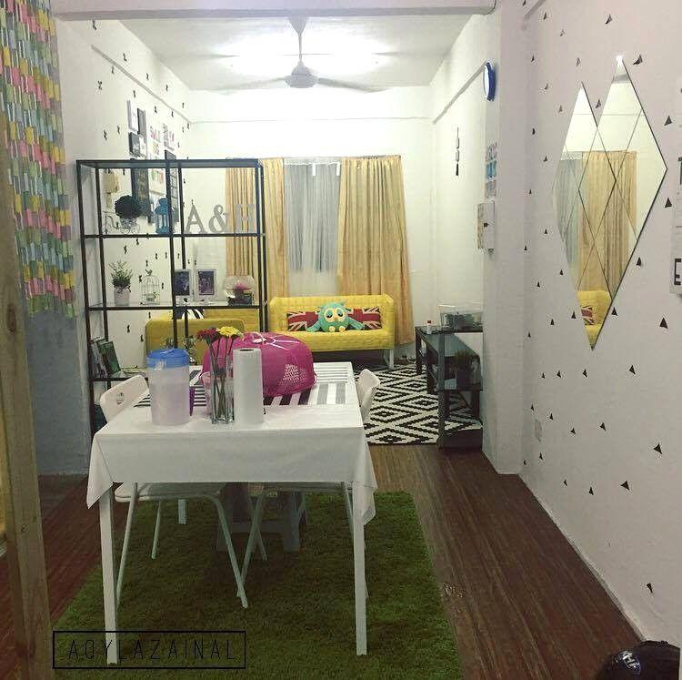 Hiasan Bilik Tidur Rumah Flat Hebat Dekorasi Menarik Gaya Ikea Di Rumah Flat Dengan Bajet Minima Avec