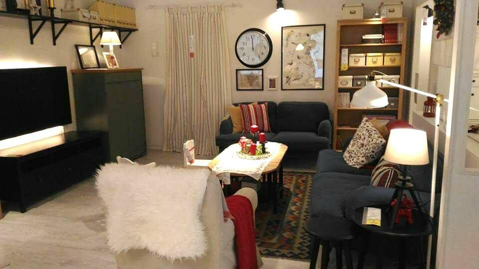 Idea hiasan dalaman ruang tamu kontemporari