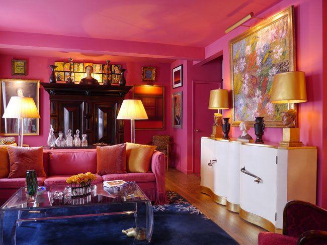 Hiasan Dalam Rumah Terhebat Tips Deko ] 17 Idea Dekorasi Ruang Tamu Dengan Warna Tema Pink