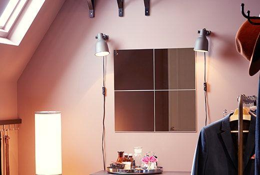 Cermin IKEA KARMSUND Cermin meja IKEA Anda boleh melihat diri anda dari semua sudut memandangkan