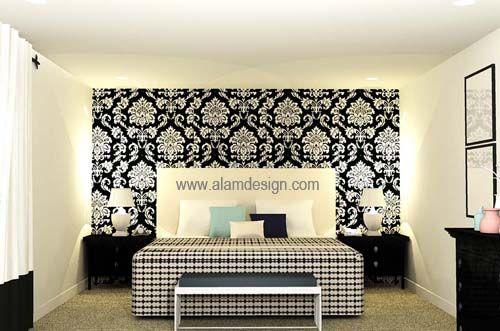 Hiasan Dalaman Bilik Belajar Penting Hiasan Wallpaper Bilik Tidur