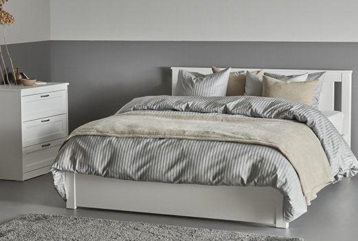 Hiasan Dalaman Bilik Darjah Power Katil Queen Dan Kelamin & Rangka Perabot Bilik Tidur Ikea