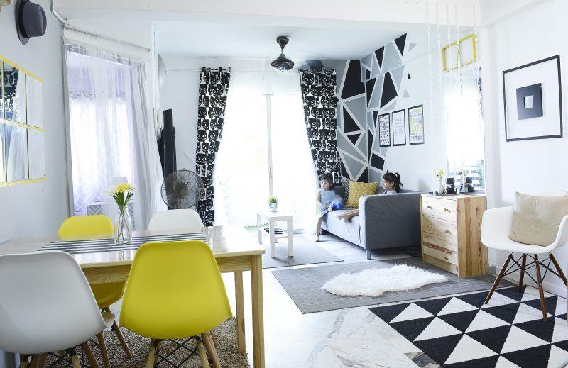 Hiasan Dalaman Bilik Tidur Ikea Power Wanita Ini Deko Rumah Konsep Scandinavian Tanpa Perlu Perabot atau