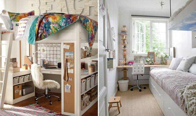 Bilik tidur sempit Inilah 12 idea dekorasi ruangan kecil yang boleh memberi inspirasi buat anda praktikal selesa dan mudah dilakukan