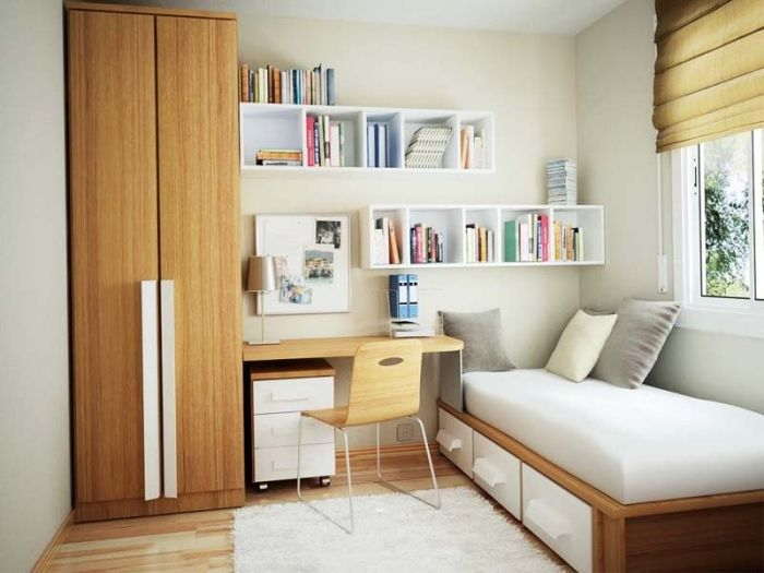 Solusi Menghias Ruang Tidur Sempit