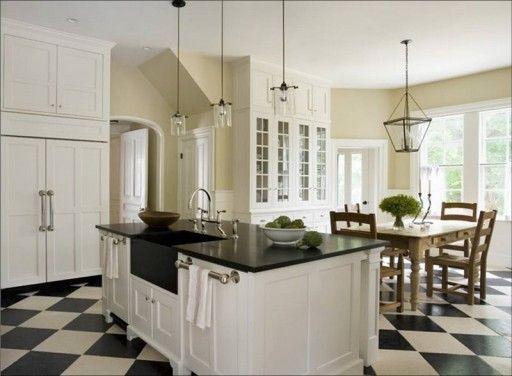 Hiasan Dalaman Dapur Kecil Terhebat Dapur Hitam Dan Putih 30 Reka Bentuk Dalaman Foto