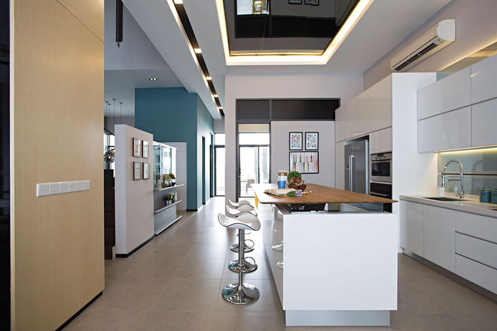Hiasan Dalaman Dapur Rumah Kampung Meletup Rr Idea Dapur Nadi Kediaman Malaysia S No 1 Interior Design Channel