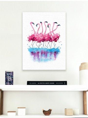 Gambar dinding a segar a Eropa Flamingo ruang tamu Hiasan Dinding Dekoratif