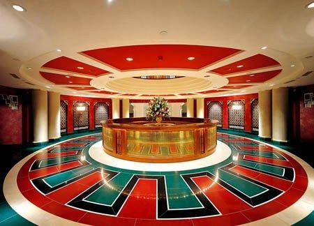 Hiasan Dalaman Hotel Buruj di Dubai bertaraf Tujuh Bintang