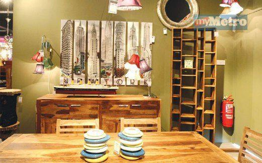 PERLUNYA kombinasi pelbagai elemen hiasan untuk persembahan dekorasi terbaik