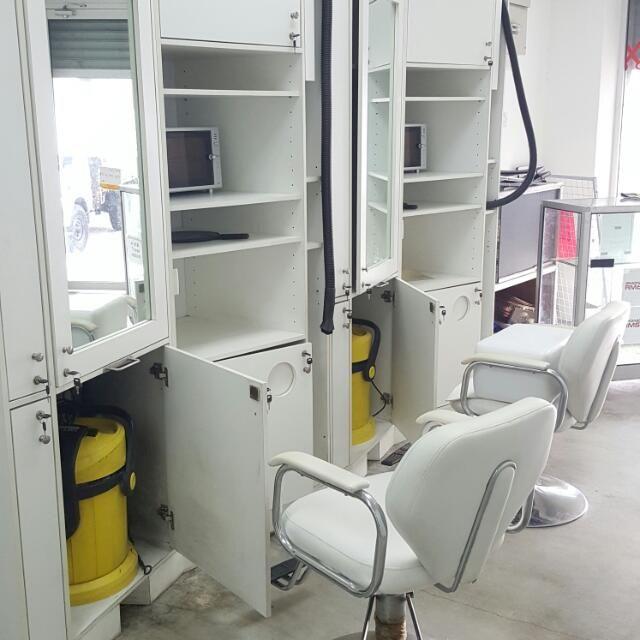 Hiasan Dalaman Kedai Penting Perkakasan Kedai Gunting Rambut Dan Barber Shop Rumah & Perabot Di