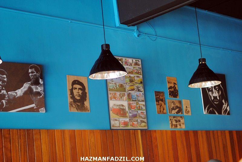 Hiasan Dalaman Kedai Terhebat Hazman Vs Food – Restoran Kulcats Barrio Taman Tun Dr ismail