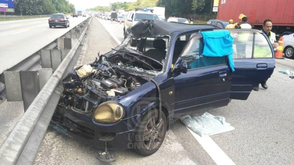 Hiasan Dalaman Kereta Kancil Terbaik Lelaki Maut Kemalangan Nahas & Bencana Utusan Line