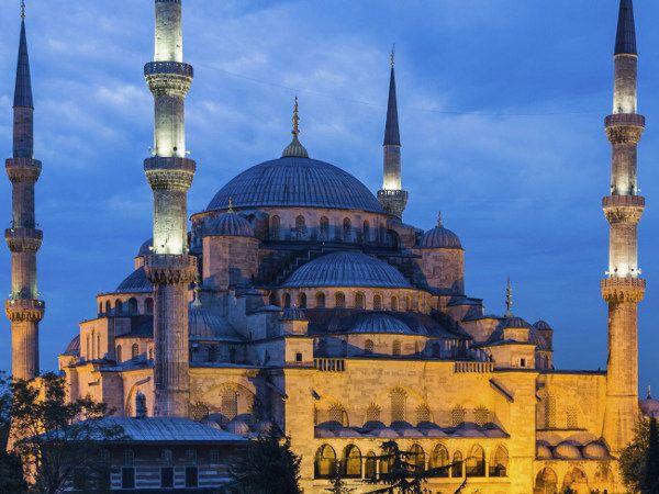 Hiasan Dalaman Masjid Menarik Rahasia Di Kubah Masjid Biru istanbul