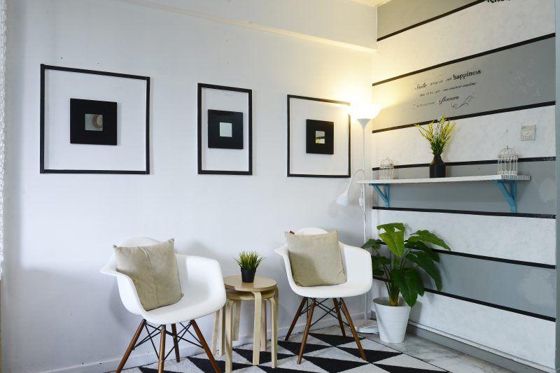Hiasan Dalaman Office Menarik Wanita Ini Deko Rumah Konsep Scandinavian Tanpa Perlu Perabot atau