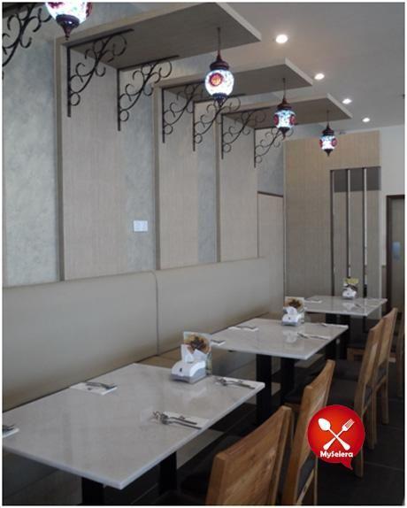 Hiasan Dalaman Restoran Meletup Keunikan Nasi Arab Dima Restaurant Ara Damansara