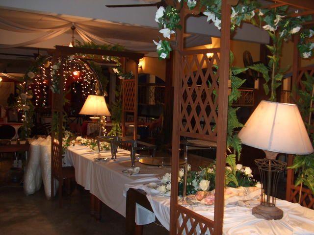 Hiasan Dalaman Restoran Moden Hebat Deko Hidangan & Meja Pengantin Gubahan Hiasan Hidangan Pengantin