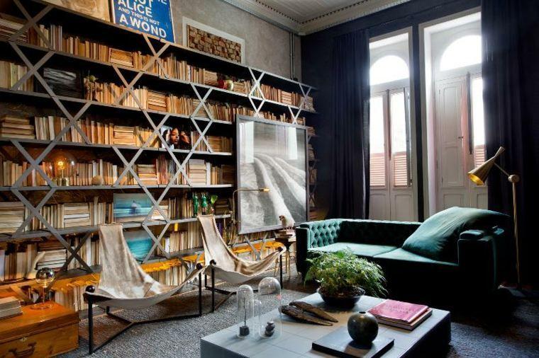 Lihat dalam galeri ruang tamu reka bentuk dalaman pencahayaan hiasan kontemporari