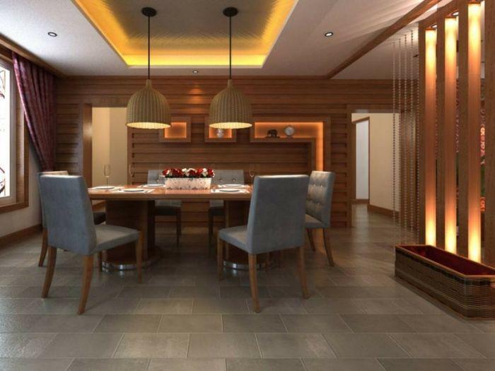 Hiasan Dalaman Ruang Tamu Perabot Jati Bernilai Bentuk Identiti Ruang Makan Ruang Makan Dekor Impiana