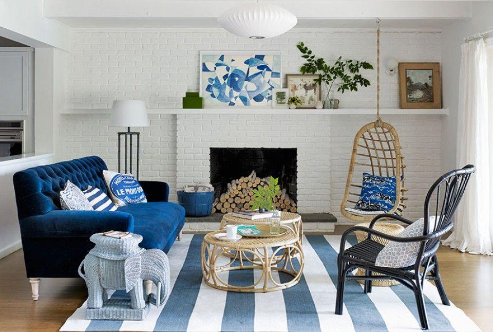 Beragam Desain Ini Akan Menunjukkan Bahwa Warna Biru Sangat Tepat Digunakan Dalam Dekorasi Rumah