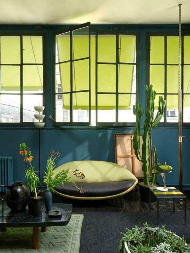 Lihat dalam galeri reka bentuk dalaman ruang tamu idea mengecat tumbuh tumbuhan hijau