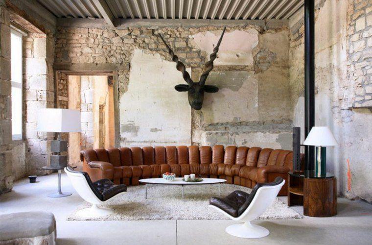Lihat dalam galeri ruang tamu reka bentuk dalaman sofa moden