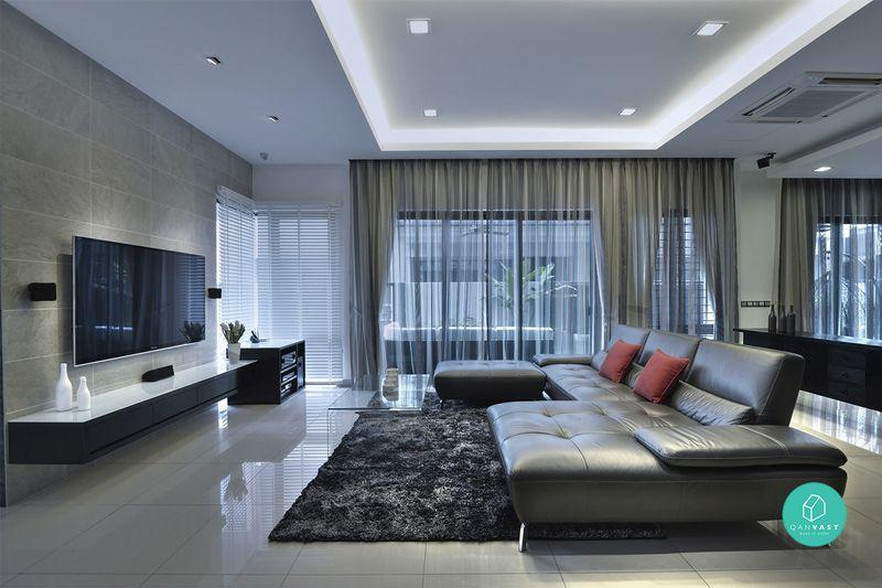Pilihan warna yang terkini serta pilihan perabot yang unik mampu menampilkan sebuah kediaman yang moden serta mewah Daya tarikan ini adalah dari
