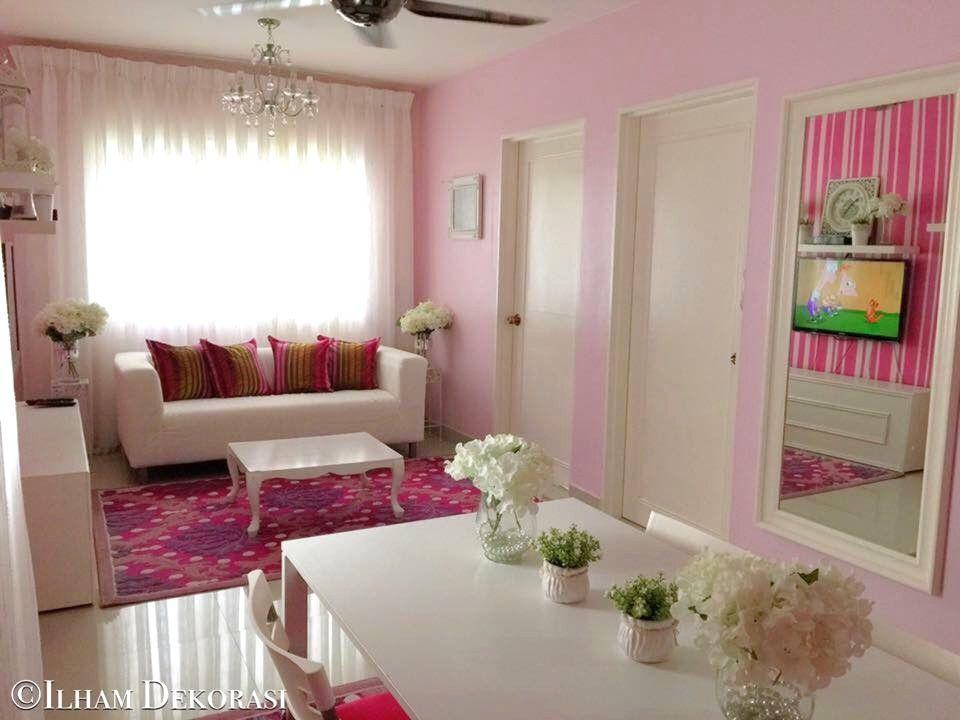 Hiasan Dalaman Rumah Flat Ppr Bernilai Ilham Dekorasi Menarik 650sqft Lawa