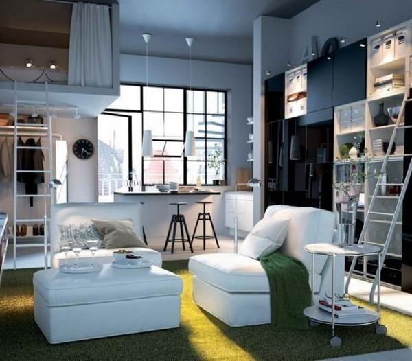 Idea dalaman dari IKEA untuk ruang kecil Rumah reka bentuk sumber
