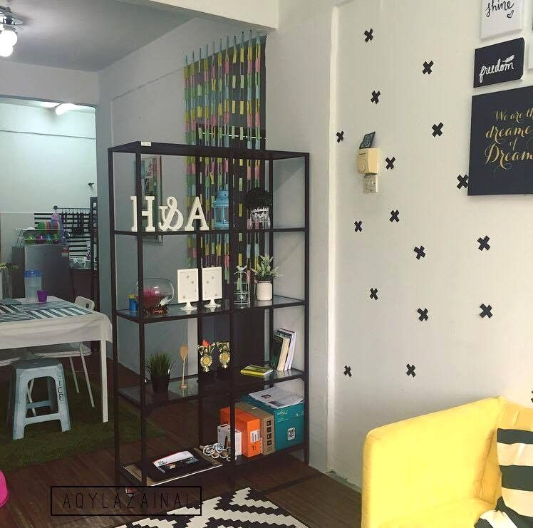 Dekorasi Menarik Gaya Ikea Di Rumah Flat Dengan Bajet Minima Avec Deco Rumah Kecil Et Deko Rumah Flat 9 95 Deko Rumah Flat 9 Deco Rumah Kecil Interior