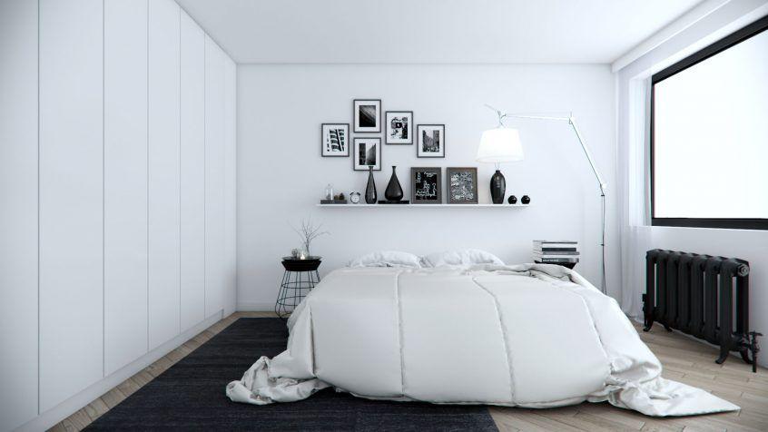 Hitam dan putih seringkali menjadi pilihan warna anak muda dalam menghias ruang kediaman mereka Nampak cool dan trendy kombinasi dua warna ini memang in
