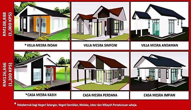 Model Terkini Rumah Mesra Rakyat RMR