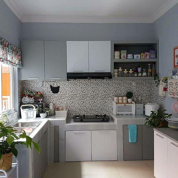 Hiasan Dalaman Rumah Minimalis Bernilai Model Motif Keramik Dapur Sempit