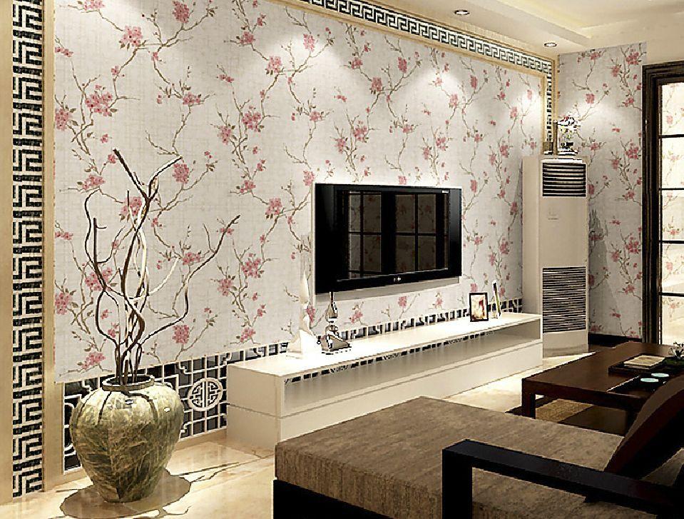 Gambar Wallpaper Dinding Ruang Tamu Sederhana