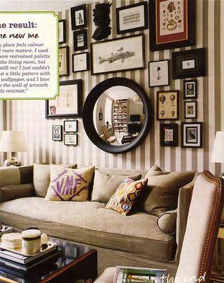 Membuat ruangan tampak indah bukan hanya dari segi interor design dan furniturenya saja melainkan juga dari pajangan atau aksesoris dekorasi dinding