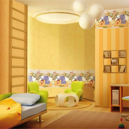 Wallpaper kuning sesuai untuk mana mana bilik di dalam adalah penting untuk memilih warna yang betul